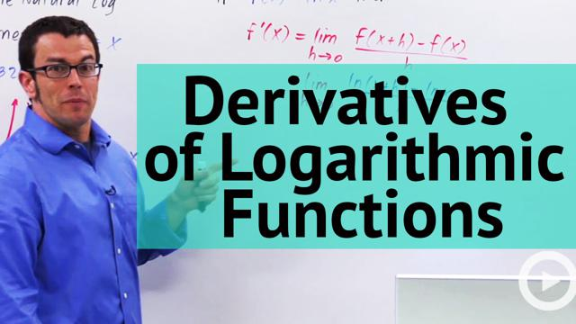 Derivatives of Logarithmic Functions - Concept