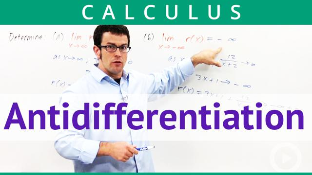 Antidifferentiation - Concept
