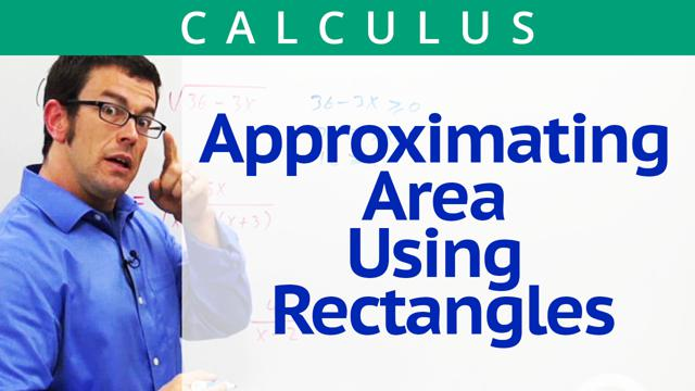 Approximating Area Using Rectangles - Concept