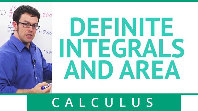 Definite Integrals and Area - Concept