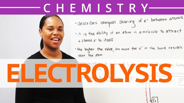 the concept of electrolysis Ideas for enhancing electrolysis practical work  basic chemical concepts  underpinning electrolysis in pre-16 courses figure 1: basic.